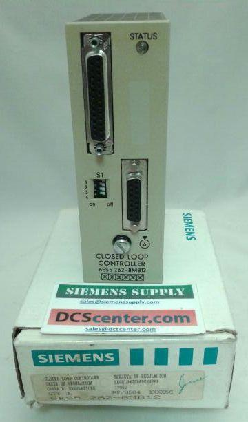 SIEMENS   6ES5262-8MB12  IP262 Closed Loop Control Module   SIMATIC S7   Image
