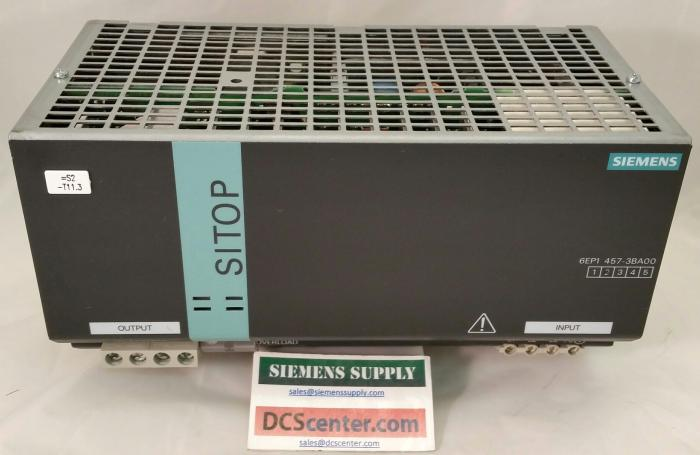 SIEMENS | 6EP1457-3BA00 | SITOP Power Supply  | SIMATIC S7 | Image
